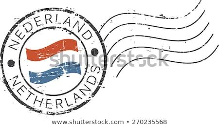 Dutch stamps Stock photo © Hofmeester