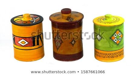 セラミック パノラマ 表示 陶器 公正 ストックフォト © igabriela
