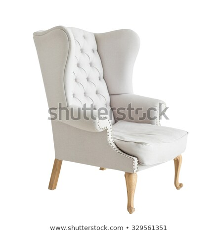 classical armchair isolated on white Stock photo © ozaiachin