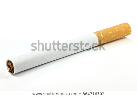 single unlit cigarette isolated Stock photo © shutswis