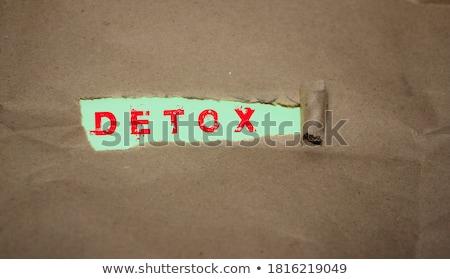 tiempo · mano · escrito · azul · marcador · transparente - foto stock © ivelin
