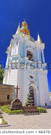 鐘 塔 遠く 聖なる 大聖堂 ストックフォト © billperry