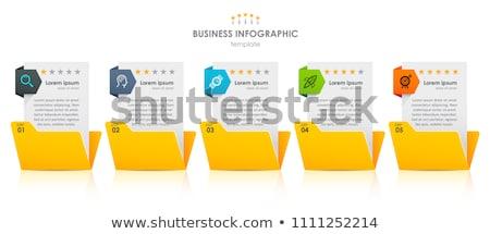 Schedules Concept on File Label. Stock photo © tashatuvango