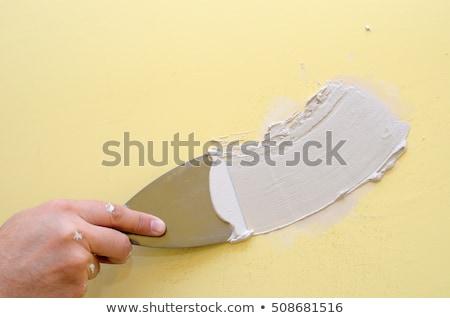 Construction putty knife Stock photo © cherezoff