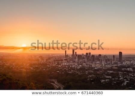 Брисбен · ночному · городу · Квинсленд · Австралия · ночь - Сток-фото © artistrobd
