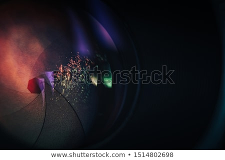 abstract color aperture Stock photo © m_pavlov