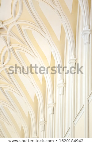 Cathedral Ceiling Arcade Detail Stock photo © photosebia