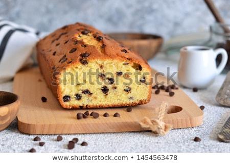 Nut sponge cake Stock photo © Digifoodstock