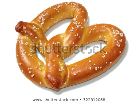 Stock photo: Hunger for pretzels.