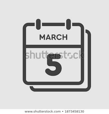 5th March Stock photo © Oakozhan