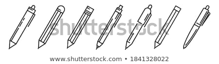 Ballpoint pen Stock photo © ronfromyork