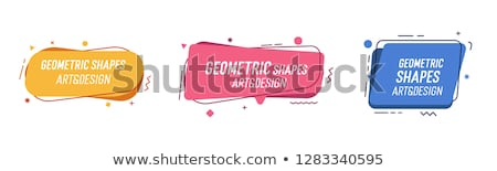 minimal blue banner with text space Stock photo © SArts