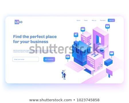 ビジネス · インフォグラフィック · デザイン · ウェブ · 緑 · バー - ストックフォト © Linetale