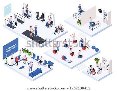 Medical Massage Session in Room with Equipment Stock photo © robuart