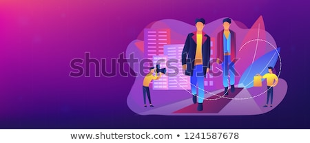 Men's style and fashion concept banner header. Stock photo © RAStudio