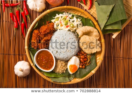 Stock photo: Traditional Malaysian food