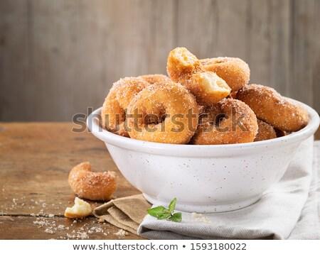 Eigengemaakt typisch spaans donuts Stockfoto © nito