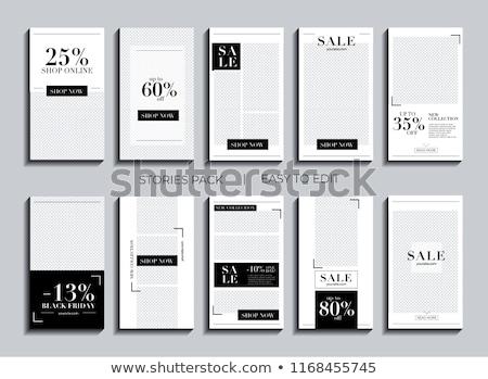 Write a story template Stock photo © colematt
