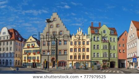 Arnulf Square in Regensburg, Germany Stock photo © borisb17
