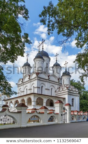 Cathedral in Bolshie Vyazyomy, Russia Stock photo © borisb17