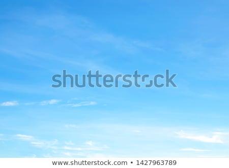 Blue sky pequeno nuvens céu completo brilhante Foto stock © fyletto