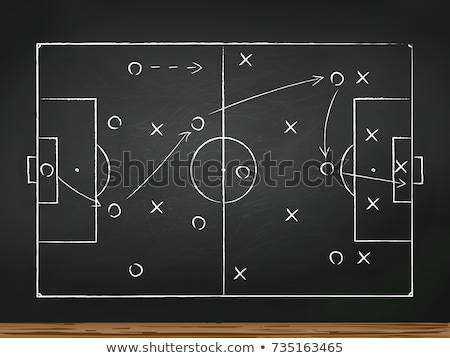 soccer game strategy stock photo © ivelin