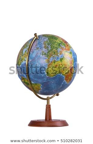 isolated globes stock photo © olgaaltunina