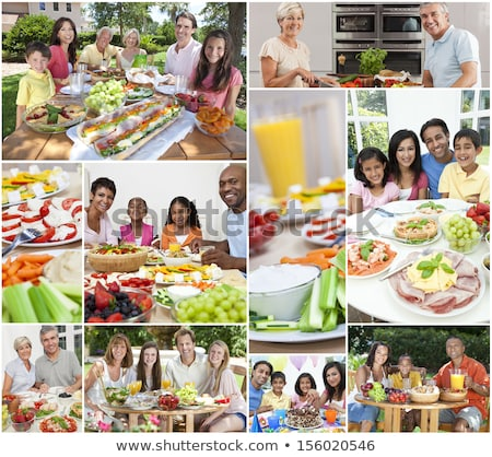 Healthy eating montage Stock photo © photography33