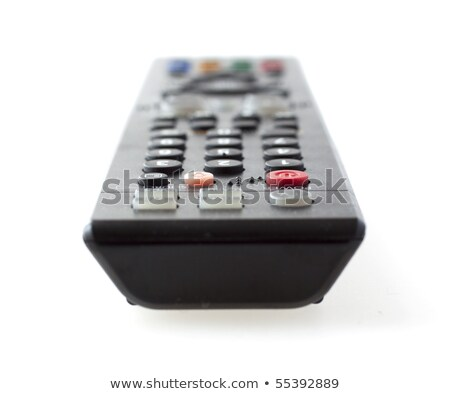 Closeup of frontal part of remote control for tv Stock photo © ozaiachin