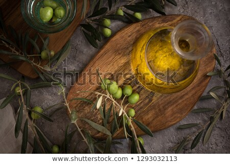 vegetables still life with olive oil Stock photo © phbcz
