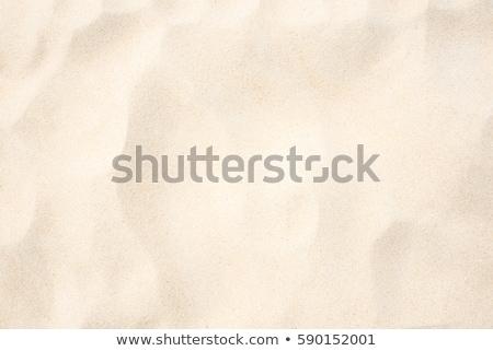 Areia pegadas homem fundo vida liberdade Foto stock © zittto