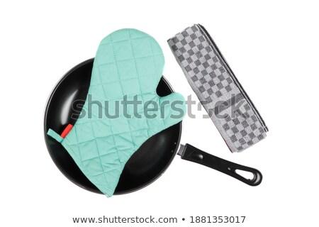 キッチン 手袋 パン おろし金 ホーム シェフ ストックフォト © shutswis