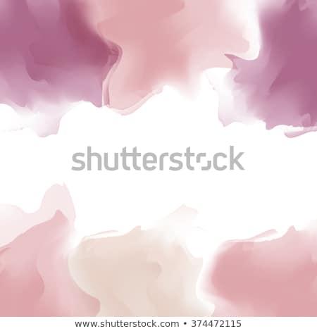 pastel colored smoke detail stock photo © prill