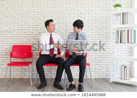 Two businesspeople waiting Stock photo © photography33