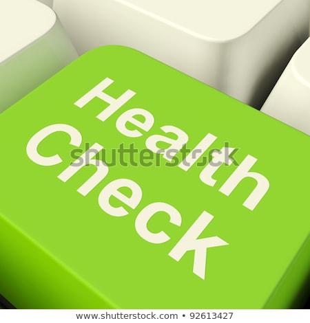 Health Check Showing Medical Monitoring Stock photo © stuartmiles