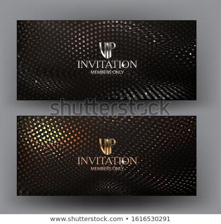 Silver VIP Club Card Stock photo © liliwhite
