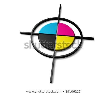 Polygraphic Cross Stock photo © Lightsource