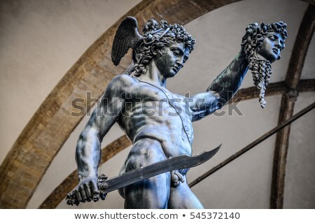 Perseus with the head of Medusa, Florence  Stock photo © Bertl123