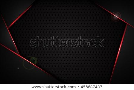 Gradient metal holes background Stock photo © romvo