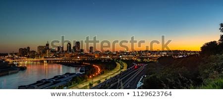 centro · da · cidade · Mississipi · rio · escritório · primavera · edifício - foto stock © andreykr