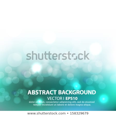 Circle light twist and bokeh background. EPS 10 Stock photo © beholdereye