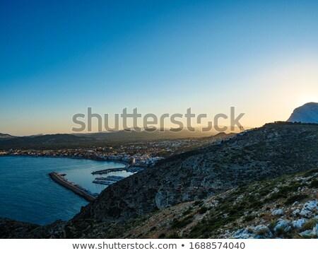 akdeniz · deniz · plaj · ada · İspanya - stok fotoğraf © lunamarina