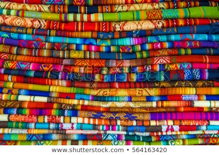 Geleneksel pazar Peru bebek iş renk Stok fotoğraf © pxhidalgo