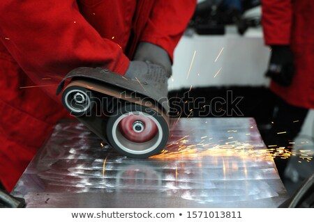 Worker sanding Stock photo © photography33