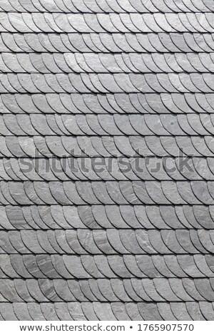 Preto e branco parede azulejos harmônico padrão projeto Foto stock © meinzahn