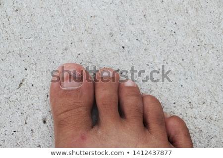 средний · пальца · расплывчатый · Рисунок · мелкий - Сток-фото © Belyaevskiy