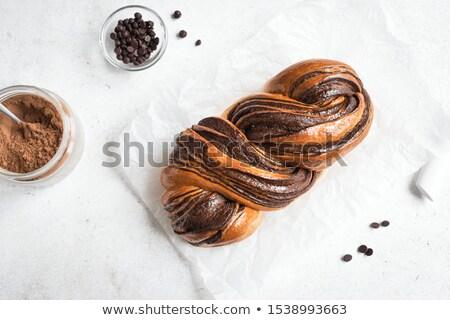 Chocolate Babka Stock photo © MSPhotographic