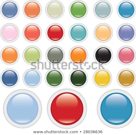 Photo stock: Shopping · signe · violette · vecteur · bouton · icône
