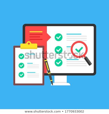 audit checklist stock photo © fuzzbones0
