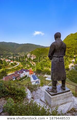 Dobrun Monastery, Bosnia and Hercegovina Stock photo © phbcz